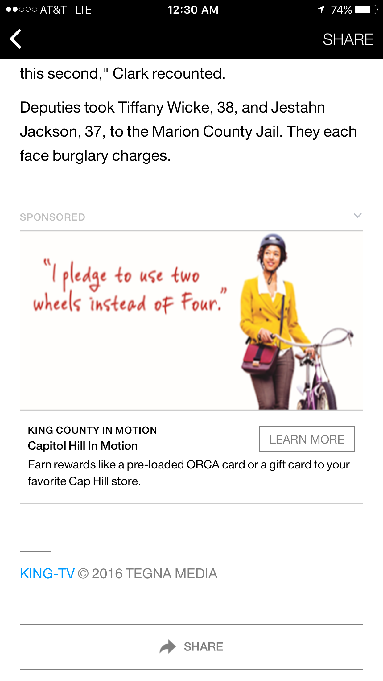 Three rounds of geo-targeted Facebook ads kept the campaign fresh